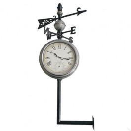 Relógio Estação Rosa dos Ventos Termômetro Uso Externo