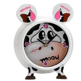 Relógio de Mesa Despertador Com Som de Vaca
