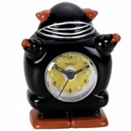 Relógio de Mesa Robô Bobby Black
