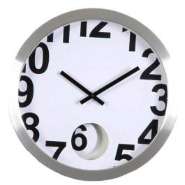 Relógio de Parede em Alumínio Numbers