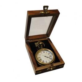 Relógio de Bolso em Bronze
