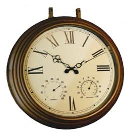 Relógio Estação Tradicional Termômetro/Higrômetro Uso Externo