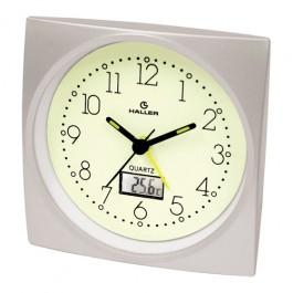 Relógio de Mesa Lumitherm Despertador Autoluminoso