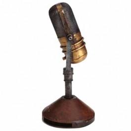 Réplica de Microfone de Mesa da Década de 40