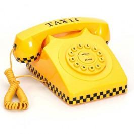 Telefone Taxi Amarelo
