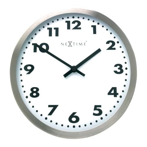 ea9026dee4f Sua Loja de A a Z - Relógio de Parede Big 95 Alumínio - DEPARTAMENTOS
