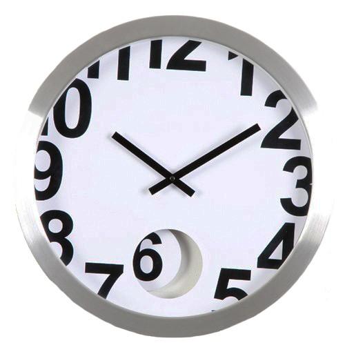 77ff6161443 Sua Loja de A a Z - Relógio de Parede em Alumínio Numbers ...