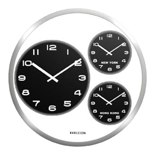 fe84ff85448 Sua Loja de A a Z - Relógio de Parede Aço Escovado Big Tic World ...