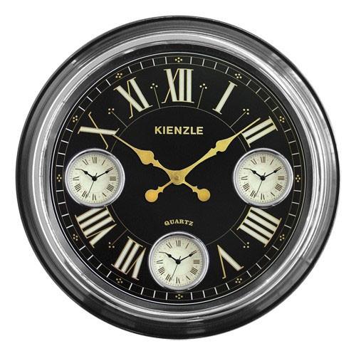 2886c1b1c8f Sua Loja de A a Z - Relógio de Parede Trianon 3 Fusos Horários ...