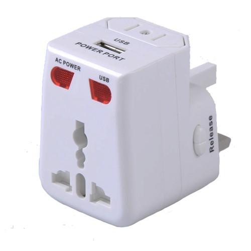 Adaptador Universal para Tomadas com USB