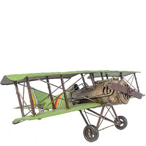 Miniatura de Avião Biplano