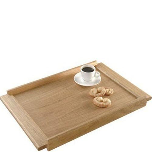 Bandeja de Madeira para Café e Chá