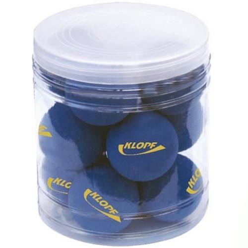 Bolas para Frescobol Azul em Pote Plástico