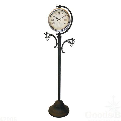 Relógio com Pedestal Termômetro Para Uso