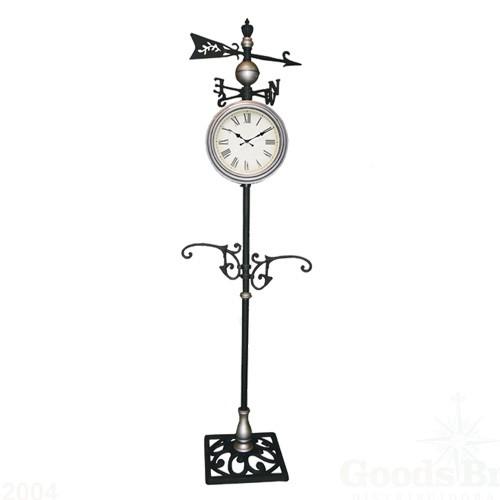 Relógio com Pedestal Rosa dos Ventos Uso