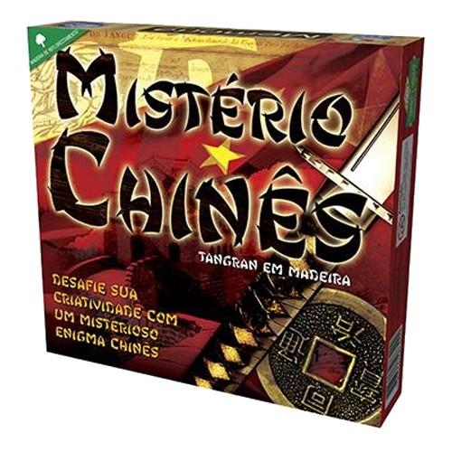 Mistério Chinês com Tangran em Madeira