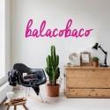 Adesivo Decorativo de Parede Balacobaco