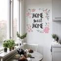 Adesivo Decorativo de Parede Home Sweet Home