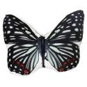 Almofada Borboleta Black Stripes