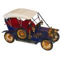 Miniatura de Calhambeque Azul com Banco Vermelho Oldway