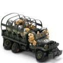 Caricatura Caminhão Exército