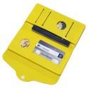 Carteira e Porta Passaporte de Silicone Amarelo