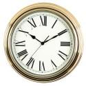 Relógio de Parede Dourado Antigo