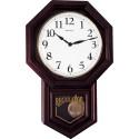Relógio de Parede Carrilhão Oitavado em Madeira