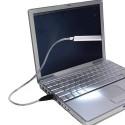 Luminária USB para Notebook 8 Leds em Blister