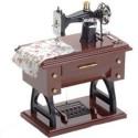 Caixa de Música Maquina de Costura