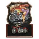 Placa de Parede Motos American Classics