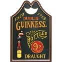Placa de Parede Cerveja Guinness Dublin