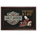 Placa de Parede Harley Davidson Vintage