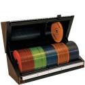 Porta CD/DVD com Seletor e Indice Automático de Busca Brown 120