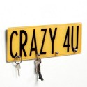 Porta Chaves Crazy For You de Vidro