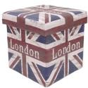 Puff com Estampa Bandeira da Inglaterra