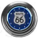 Relógio de Parede Neon Estampa Route 66