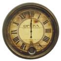 Relógio de Parede Ópera Pendullun em Metal 61