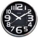 Relógio de Parede Steel Black