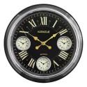Relógio de Parede Trianon 3 Fusos Horários