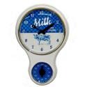 Relógio de Parede para Cozinha Vaca com Timer