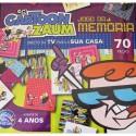 Jogo da Memória Cartoon Zaum Dexter 70 Peças