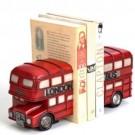 Apoio para Livros Ônibus Londrino