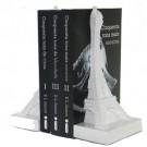 Apoio para livros Torre Eiffel Branco