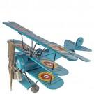 Avião Três Asas Azul