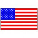 Bandeira dos Estados Unidos 1.60 Mt.