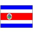 Bandeira da Costa Rica 1.60 Mt.