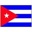 Bandeira de Cuba 1.60 Mt.