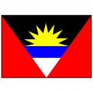 Bandeira de Antigua e Barbuda 1.60 Mt.