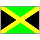 Bandeira da Jamaica 1.60 Mt.
